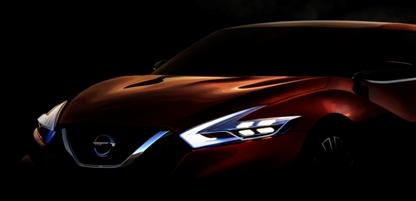 Nissan представляет концепт спортивного седана на Североамериканском автосалоне 2014