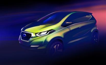 Datsun представляет эскиз концепт-кара, определяющего направление развития дизайна бренда в будущем