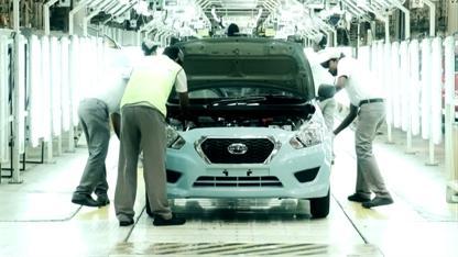 Производство нового семейного автомобиля DATSUN GO стартовало на заводе в Ченнаи