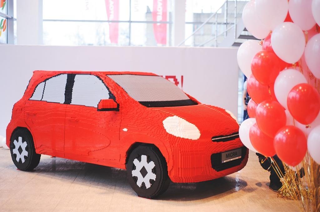 Nissan «Авто-Импульс» представляет настоящий автомобиль из конструктора!