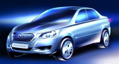 Первая серийная модель Datsun для России будет представлена 4 апреля 2014 года