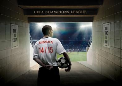 Компания Nissan заключила партнерское соглашение с Лигой Чемпионов UEFA
