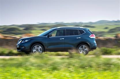 Nissan укрепляет свои позиции в сегменте кроссоверов благодаря новой модели X-Trail
