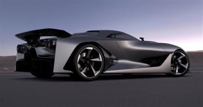 Nissan и Playstation представляют Vision - cуперкар будущего