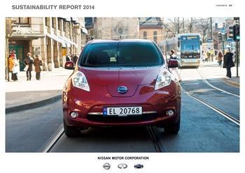 Компания Nissan публикует Отчет об устойчивом развитии 2014