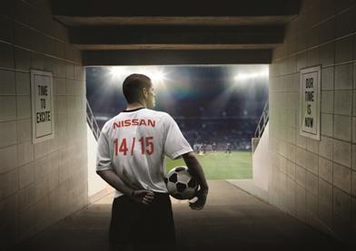 Nissan «вводит мяч в игру», начиная партнерство с Лигой чемпионов UEFA на Суперкубке UEFA 2014 года