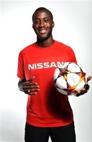 «Звезда» Manchester City и сборной Кот-д'Ивуара Яя Туре присоединился к Nissan, став новым посланником марки
