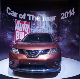 Новый Nissan X-Trail назван журналом Auto Bild «Автомобилем Года - 2014»