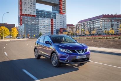 Nissan Qashqai признан самым безопасным в классе малых семейных автомобилей
