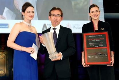 Широ Накамура, Старший вице-президент Nissan Motor Co. по дизайну, получил престижную награду