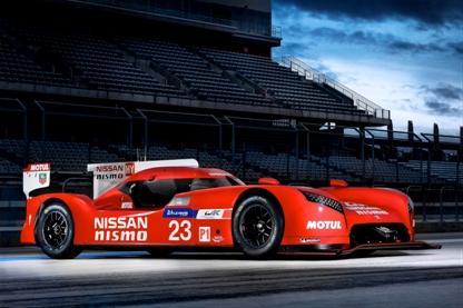 Nissan представляет болид для гонок в Ле-Мане в дни прохождения Суперкубка