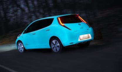 Nissan - первый автопроизводитель, использующий флуоресцентную эмаль