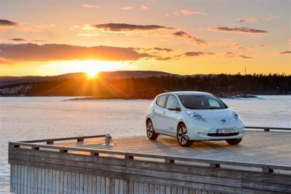 Nissan Leaf как основной семейный автомобиль - новый тренд в Европе