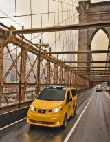 Nissan представляет городское такси будущего.
