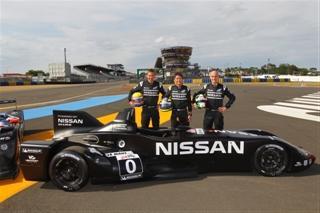 Компания Nissan доминировала в этом году на гонках 24 часах Ле-Мана