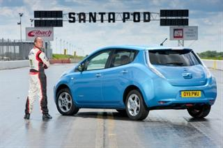 Nissan Leaf установил новый рекорд Гиннеса