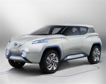 Концептуальный внедорожник Nissan TeRRA SUV