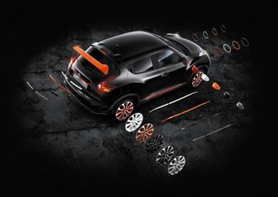 Покупатели Nissan Juke теперь могут стать конструкторами