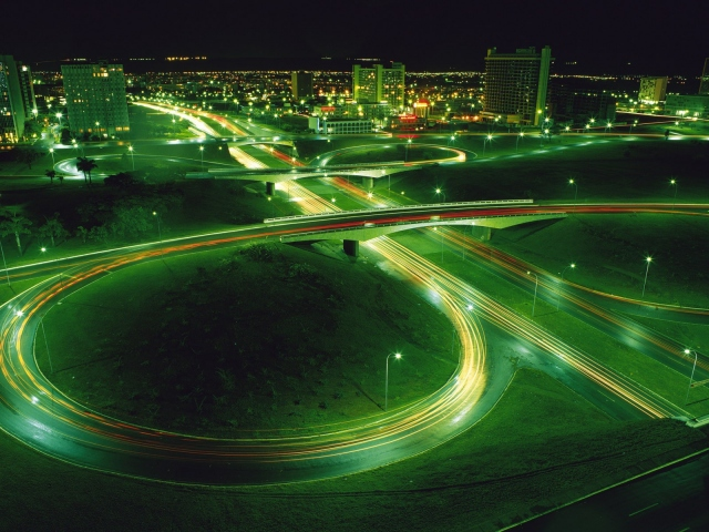 Дорога ночью