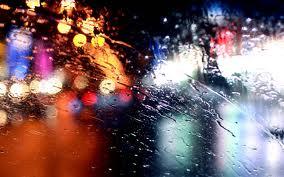 Вождение автомобиля во время дождя