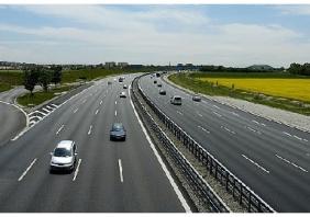 Поломка на автомагистрали